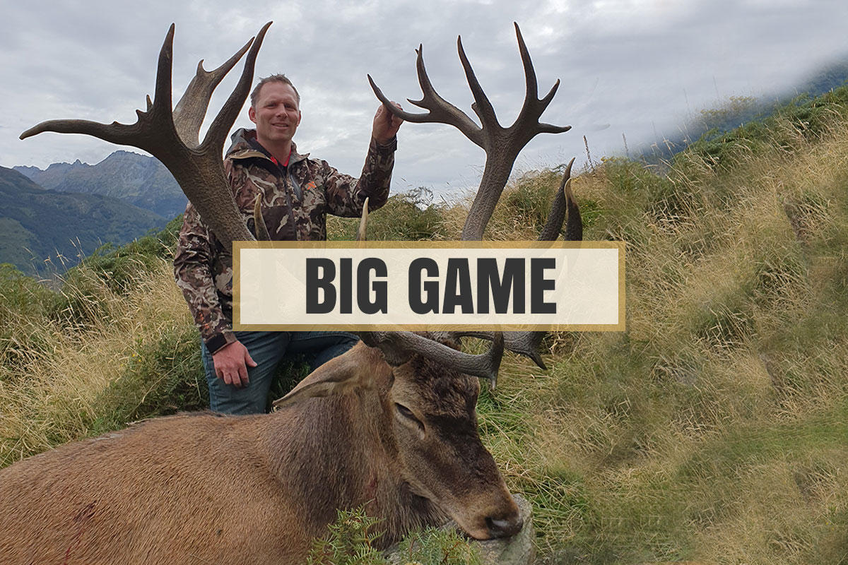 Big Game Hunting Queenstown Wanaka